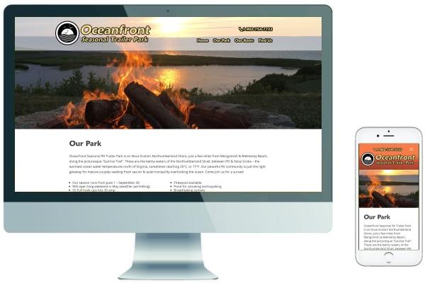 Responsive Website Development & SEO - Oceanfront RV Park