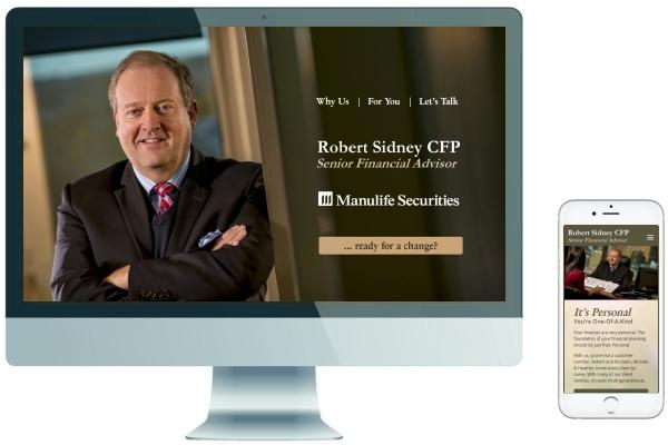 Responsive Website Development & SEO - Robert Sidney CFP